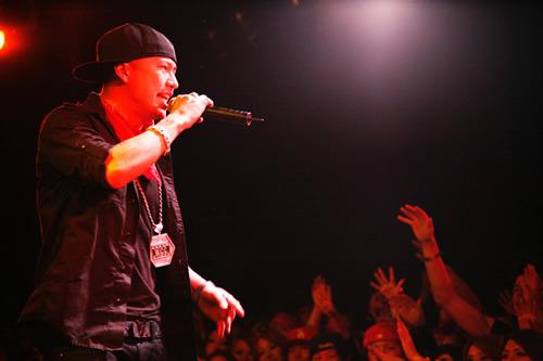 3月21日、YOKOHAMA BAYHALLで新作CDのリリースパーティーを開催したAK-69 (c)Listen Japan