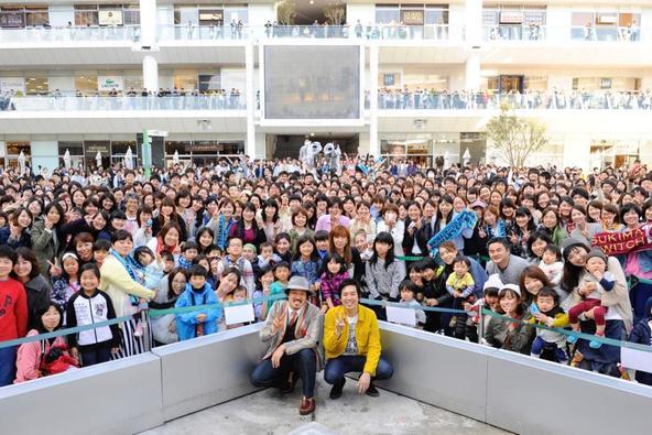 4月17日(日)@神奈川・ラゾーナ川崎プラザ (okmusic UP\'s)