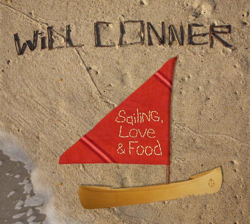 4月7日に日本先行リリースされるウィル・コナー『セイリング、ラヴ、フード』 (c)Listen Japan