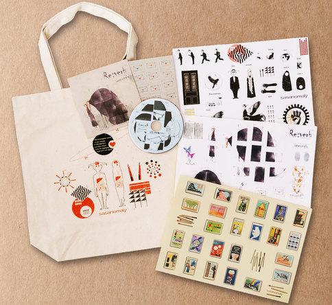 手提包和贴纸套装(okmusic UP's)