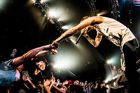4月15日@Zepp Tokyo (okmusic UP's)