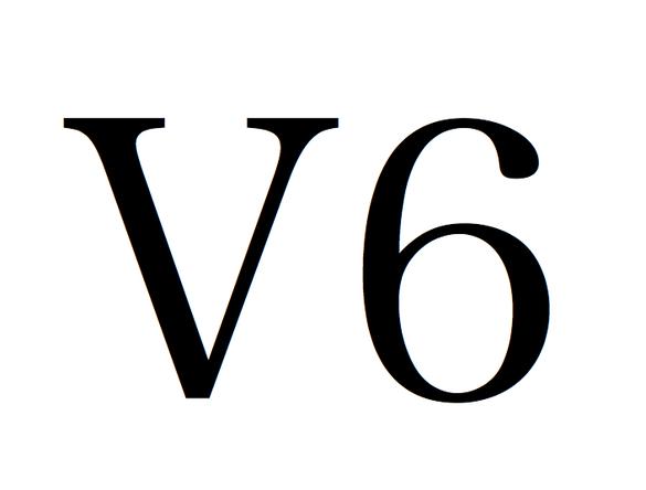 V6 ロゴ (okmusic UP's)