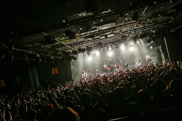 4月23日@恵比寿のLIQUIDROOM (okmusic UP's)