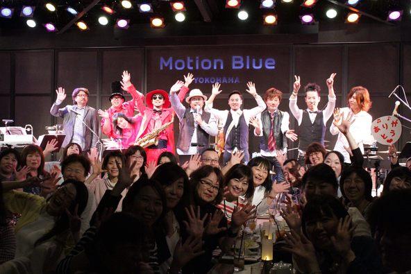 4月23日(土)@Motion Blue横浜 (okmusic UP\'s)