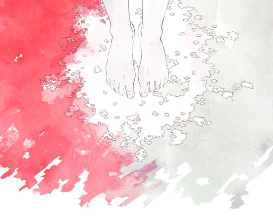 アルバム『月を歩いている』 (okmusic UP's)
