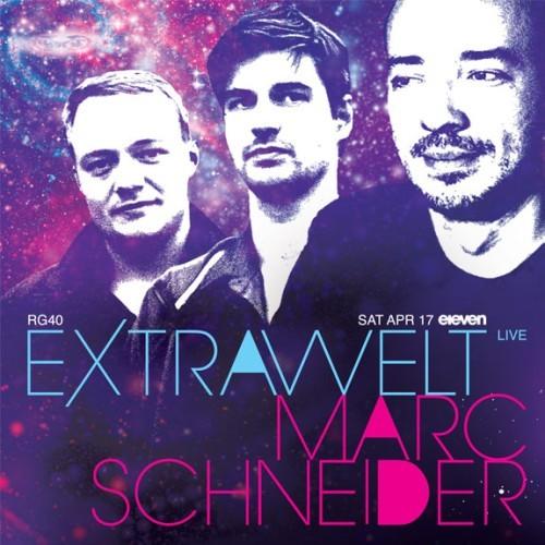 Extrawelt、Marc Schneiderがelevenで開催される『Real Grooves vol.40』に登場 (c)Listen Japan