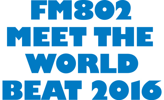 「FM802 MEET THE WORLD BEAT 2016」ロゴ (okmusic UP's)