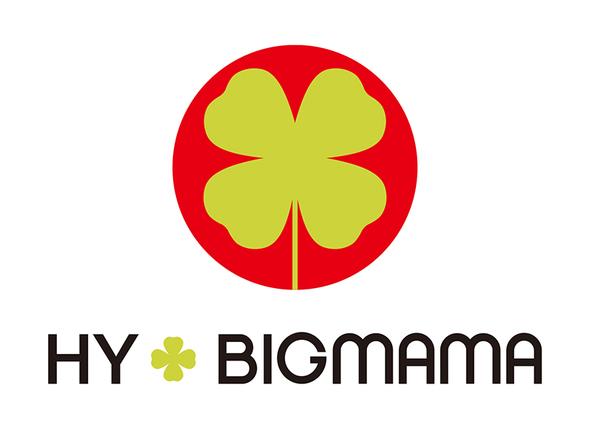 HY+BIGMAMA ロゴ (okmusic UP's)
