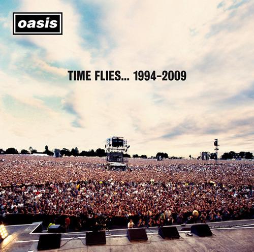 オアシスのベスト盤『タイム・フライズ・・・1994-2009』 (c)Listen Japan