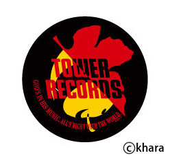 "「EVANGELION:2.22×TOWER RECORDS""SYNCHRO THE MUSIC""キャンペーン」コラボレーションロゴ (C)khara"