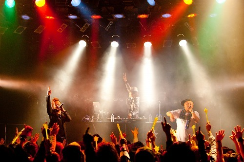 全国ツアー最終日のCLIFF EDGE(10.4.23@代官山UNIT) (c)Listen Japan