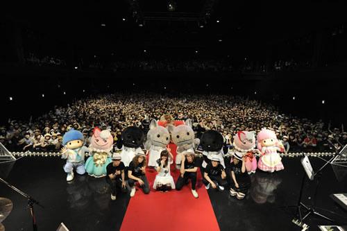 ZEPPTOKYOでワンマンライヴを開催したMEG (c)Listen Japan