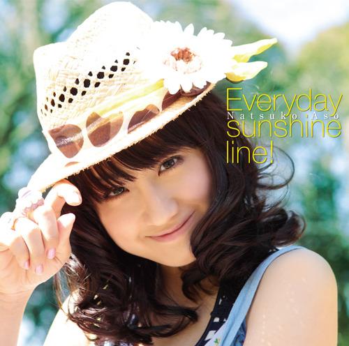 麻生夏子「Everyday sunshine line!」ジャケット画像 (c)ListenJapan
