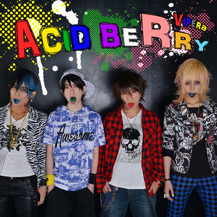 シングル「ACID BERRY」【A-type】(CD only) (okmusic UP's)