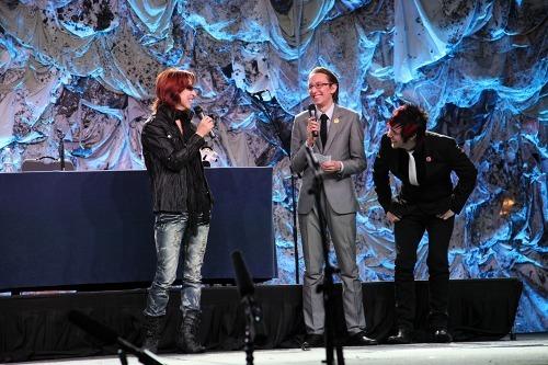 シカゴにて開催された「Anime Central in Chicago 2010」にゲスト出演したYOSHIKI (c)Listen Japan