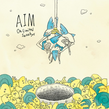 シングル「AIM」【初回盤】(CD+DVD) (okmusic UP\'s)
