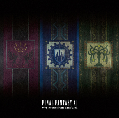 『FINAL FANTASY XI W/F:Music from Vana'diel』ジャケット画像 (C)2002-2010 SQUARE ENIX CO., LTD. All Rights Reserved.