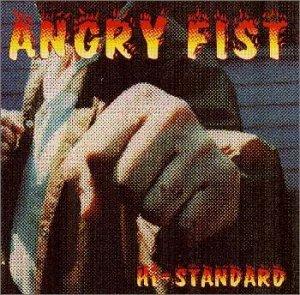 Hi-STANDARD『Angry Fist』のジャケット写真 (okmusic UP\'s)