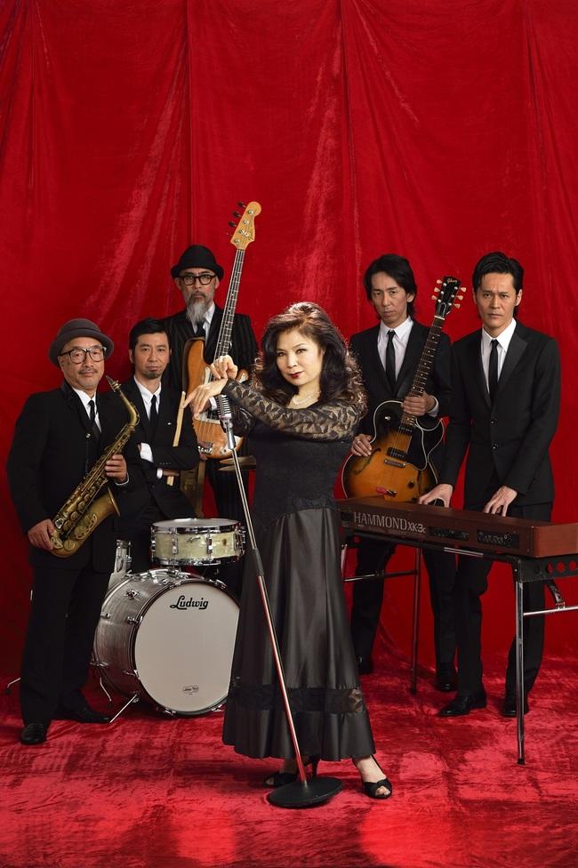 八代亜紀がブルースバンドで『RISING SUN ROCK FESTIVAL』に出演