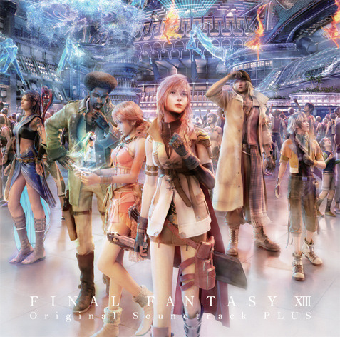 『FINAL FANTASY XIII Original Soundtrack - PLUS -』ジャケット画像 (C)2009, 2010 SQUARE ENIX CO., LTD. All Rights Reserved. CHARACTER DESIGN:TETSUYA NOMURA