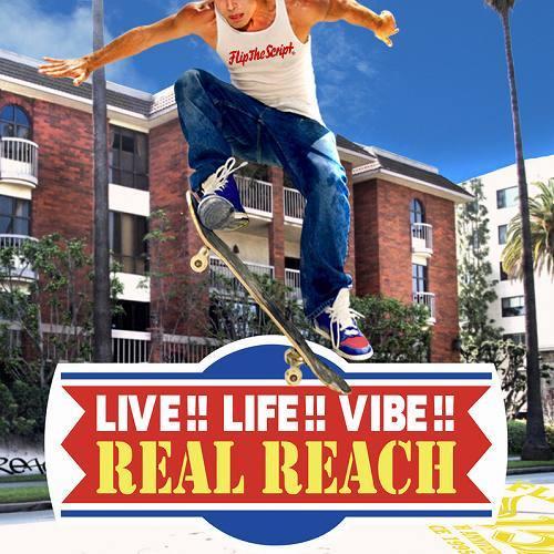 REAL REACHのニューアルバム 「LIVE!! LIFE!! VIBE!!」 (c)Listen Japan