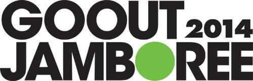 「GO OUT JAMBOREE」ロゴ (okmusic UP\'s)