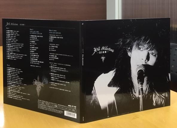 アルバム『30th milestone』外装 (okmusic UP's)