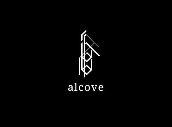 『acid android in an alcove』ロゴ (okmusic UP's)