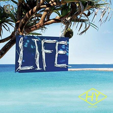 HY『LIFE』のジャケット写真 (okmusic UP\'s)