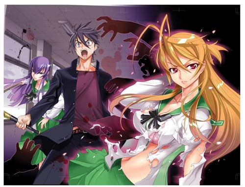 TVアニメ「学園黙示録 HIGHSCHOOL OF THE DEAD」メインビジュアル (C)2010 DAISUKE SATO / SHOUJI SATO (C)2010 Fujimishobo