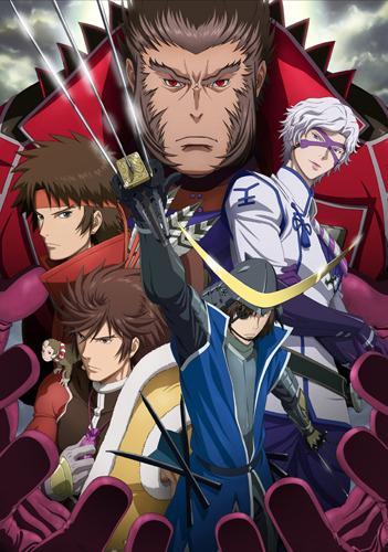 7月よりTVアニメ二期シリーズとして放送開始される「戦国BASARA弐(ツー)」 (C)2010 CAPCOM/TEAM BASARA