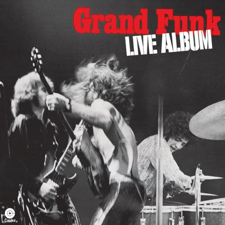 Grand Funk Railroad'Live Album'封面(okmusic UP's)