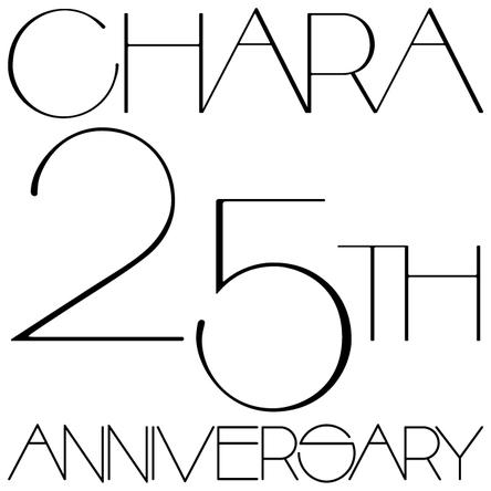 Chara 25周年ロゴ (okmusic UP's)