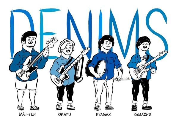DENIMS (okmusic UP's)
