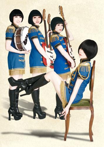 洒脱でディープな夏のヴァカンス・アルバムを発売するキノコホテル (c)Listen Japan