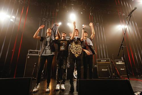 日本初シングルリリース記念イベントを開催したCNBLUE (c)Listen Japan