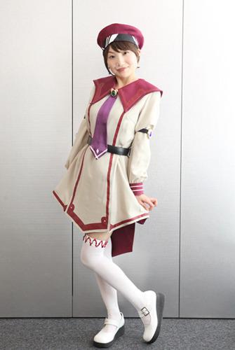 「白銀のカルと蒼空の女王」のキャラクターコスに挑戦した長谷川明子 (c)ListenJapan