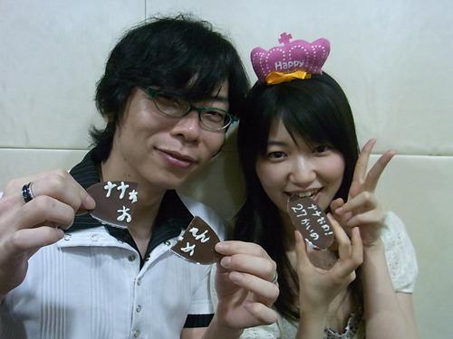 間島淳司さん(左)と、井ノ上奈々さん(右) (c)ListenJapan
