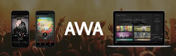「AWA」 (okmusic UP's)
