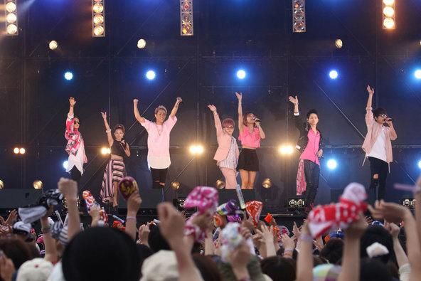6月11日@「がんばろう!九州 ハウステンボス MUSIC FES.2」(AAA) (okmusic UP\'s)