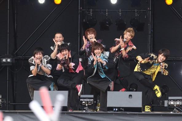 6月11日@「がんばろう!九州 ハウステンボス MUSIC FES.2」(BOYS AND MEN) (okmusic UP's)
