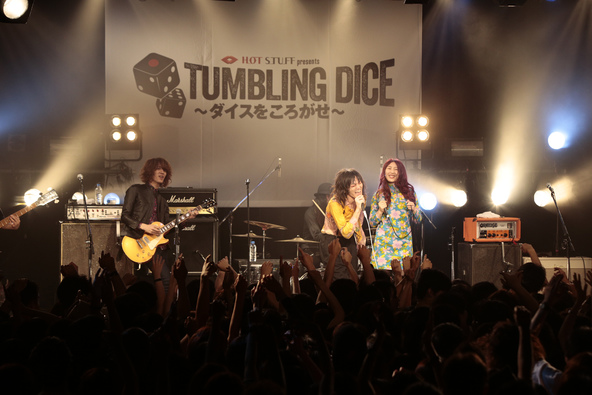 6月10日@『HOT STUFF presents TUMBLING DICE 5』(コラボ) (okmusic UP's)