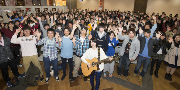 """3月27日@卒業式イベント""""FM NACK5 presents 新山詩織卒業式イベント"""" (okmusic UP\'s)"""