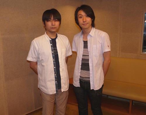コメントを寄せて頂いた石田彰さん(左)、鈴村健一さん(右) (C)フロンティアワークス