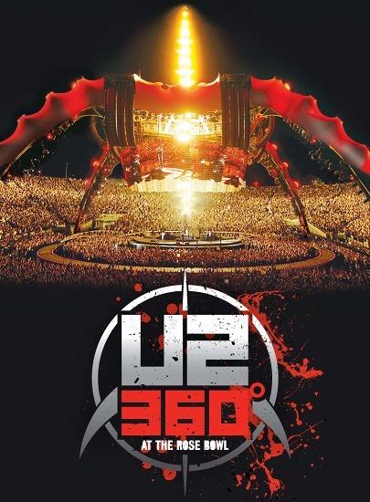 U2 LIVE DVD『U2 360°・アット・ザ・ローズ・ボール』 (c)Listen Japan
