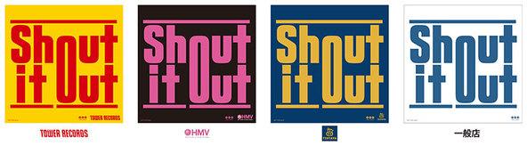 Shout it Outオリジナルステッカー (okmusic UP's)