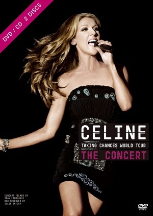 セリーヌ・ディオン『Taking Chances ワールド・ツアー:ザ・コンサート』(DVD) (c)Listen Japan