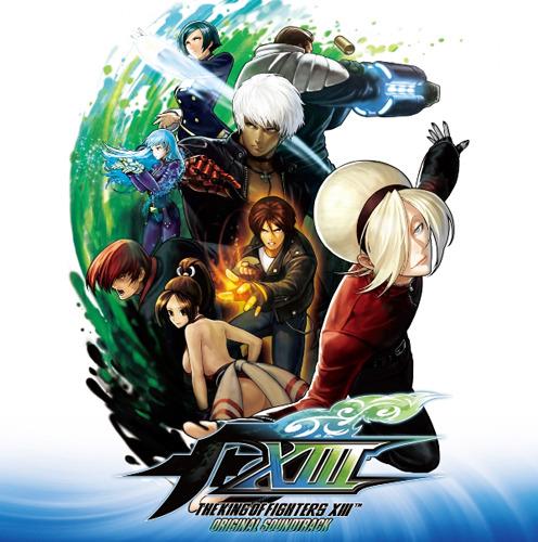 『ザ・キング・オブ・ファイターズXIII オリジナルサウンドトラック』ジャケット画像 (C)SNK PLAYMORE
