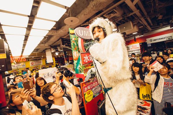6月22日@タワーレコード渋谷店 (okmusic UP\'s)
