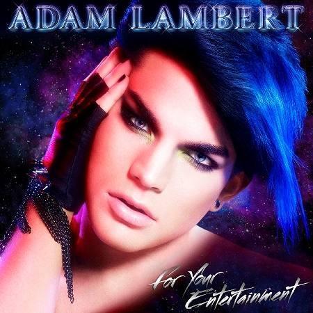 アダム・ランバートのデビュー作『フォー・ユア・エンターテイメント』 (c)Listen Japan